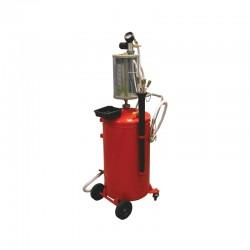 Pojazdná odsávačka oleja na stlačený vzduch - 70 L PRO