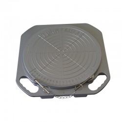 Rotačný tanier pre nastavenie geometrie - 48mm - 1ks