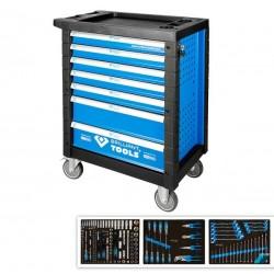 Briliant Tools dielenský vozík - 207 ks. náradia