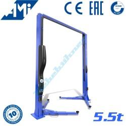 Dvojstĺpový elektro-hydraulický zdvihák AMI 5,5t VAN