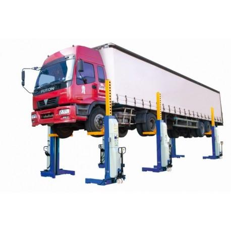 Šesť stĺpový zdvihák pre nákladné LKW a autobusy Model 6045